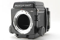 【TOP MINT】 Mamiya RB67 Pro SD Body w/ 6x8 Motorized Roll FilmBack from JAPAN B91