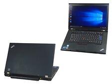 Lenovo Thinkpad T510 Core i5 M520 2.40GHz 8GB Ram 320GB HDD Webcam Laptop