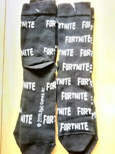 FORTNITE SOCKS 2 SIZES NEW