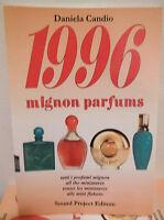 1996 Mignon Parfums di Daniela Candio catalogo fragranze miniprofumi campioncini