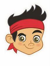 Jake de & Les Pirates Du Pays Imaginaire Simple Amusant carte fête Masque Visage