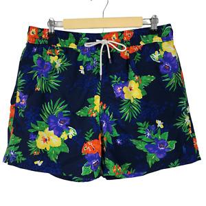 Polo Ralph Lauren Men's Swim Trunks Shorts Size XL Floral Brief Lined Hawaiian