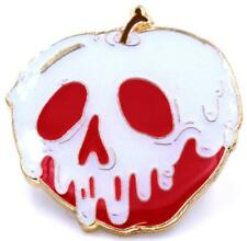 POISON APPLE GID (GLOW IN THE DARK) LAPEL PIN BY YESTERDAYS CO