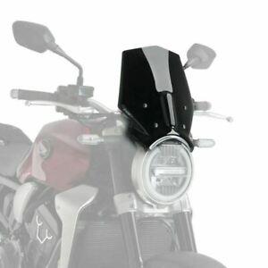PUIG Noir SPORTS Fly Nez Pare-Brise Honda CB1000R 2018 - 2021