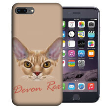 Mundaze Apple iPhone 7 & 8 Plus Design Case - Devon Rex Cat Realistic Art Cover