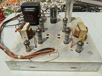Zenith Stereo Tube Amplifier 7F31 EL84 6BQ5 1961 Push Pull console