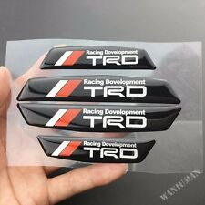 TRD Sports Auto Door Anti-Collision Sticker Emblem Decal Fit for Camry Corolla