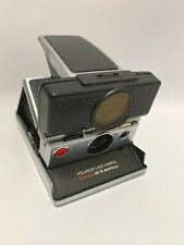 Vintage Polaroid SX-70 Instant Land Camera Chrome AutoFocus Time-Zero Untested
