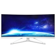 Philips 349X7FJEW 34 inch LED Curved Monitor - 3440 x 1440, 4ms, Speakers, HDMI