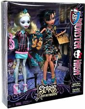 Scaris Monster High City Of Frights 2 Pack CLEO DE NILE LAGOONA BLUE Dolls New!