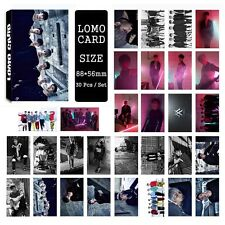 NEW 30pcs /set Cute Kpop MONSTA X Collective Photo Card Poster Lomo Cards