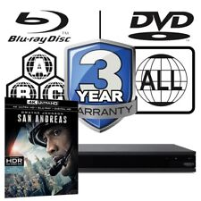 Sony UBP-X800 All Zone MultiRegion 4K Ultra HD Blu-ray Player & San Andreas