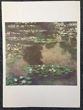 Monet 1978 Regatta Water Lilies Oil On Canvas