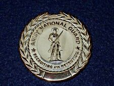 US Army National Guard Recruiting and Retention Badge Clutch Back & Vintage Orig