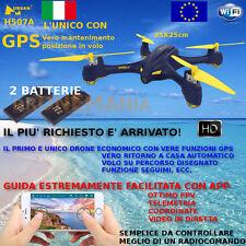 Drone GPS Hubsan H507A video in diretta e guida da smarphone APP camera HD