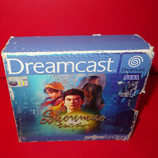 VINTAGE 2000 SEGA DREAMCAST SHENMUE 1 PLAYER GAME COMPLETE BOXED RARE