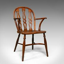 Chiltern Bodgers Chair, High Wycombe, English, Yew, Elm, Windsor Circa 1948