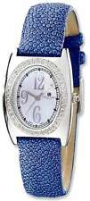 Ladies Charles Hubert Blue Stingray 0.75ctw Diamond 29x32mm Watch