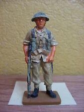 FIGURINE DEL PRADO SOLDAT ANGLAIS COMMANDO ROYAL MARINE UK 1943 WWII