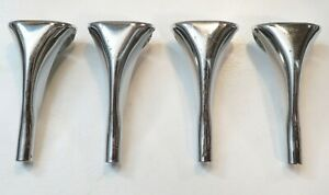 4 Vintage German SONOR BASS DRUM CLAW HOOKS (Hilite/Force/3000/Maple/2000/18)