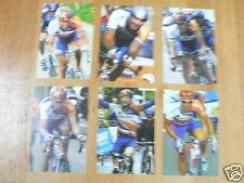 RABO TEAM CYCLING TOUR DE FRANCE SET OF 24 INFO CARDS,RASMUSSEN,FREIRE,LEIPHEIME