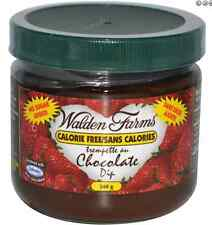 NEW WALDEN FARMS CHOCOLATE DIP NO SUGAR GLUTEN FREE DAILY HEALTHY GREAT TASTY