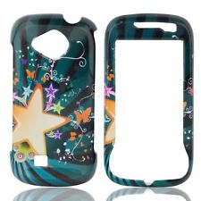Star Blast Hard Case Snap on Cover Samsung Reality U820