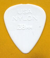 DUNLOP GUITAR PICKS- NYLON (w/GRIPS) ALL .38mm  (6) Standards