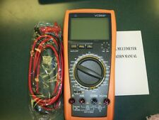 1 New VC9806+ 4 1/2­­ Digital Multimeter Diode hFE Test Continuity Ship from USA