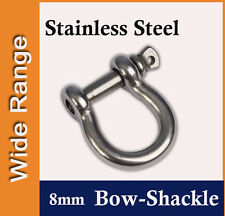 8mm Stainless Steel Bow-Shackle for Shade Sail, Boat