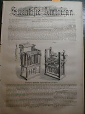 Candle Mould Moulding Machine 1860 Threshing  Thresher - Steam Engine