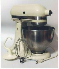 KitchenAid Classic Series 4.5 Quart Light Cream Color Stand Mixer 10 Speed K45Ss