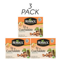 Herbacil Cuachalalate Tea. Stomach Ailments Relief. 25 Bags 0.88 Oz. Pack of 3