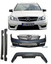 Mercedes W204 12+ AMG C-klasse ABS Komplettpaket Bodykit Stoßstange