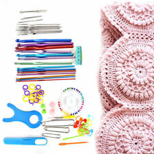 73Pcs/set Multi Colour Knitting Crochet Box Case Tools Supplies Accessories Kit
