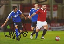 CHESTERFIELD: RICHARD WOOD SIGNED 6x4 ACTION PHOTO+COA