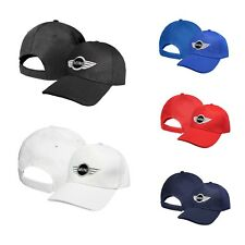 MINI Cooper CARBON Casquette Auto Logo Brodé Réglable Chapeau Baseball Cap BMC