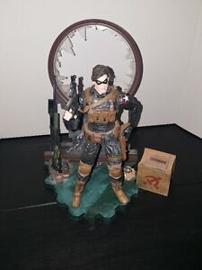 """Marvel Diamond Select Winter Soldier Action Figure preowned 7"""" no box"""