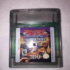 WDL World Destruction League: Thunder Tanks (Nintendo Game Boy Color) Game Exc!