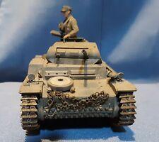 WWII German mark II light tank, 1/35 scale