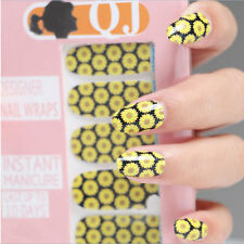 New Nail Art Sticker Water Transfer Stickers Flower Decals Tips Decoration