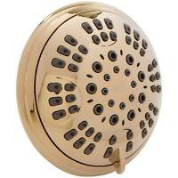 6 Function Luxury Shower Head (Aqua Elegante) - Polished Brass