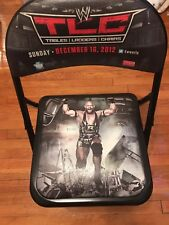WWE TLC 2012 Event Folding Chair with Free Men's XL T-Shirt From The Event