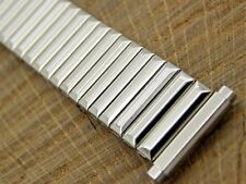 Speidel Vintage Stainless Steel Watch Band 16mm-19mm Expansion Unused NOS Mens