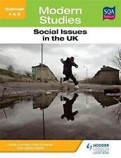 National 4 & 5 Modern Studies: Social Issues in the United Kingdom-ExLibrary