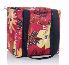 Thirty One Small Utility Tote (Tropical Garden)