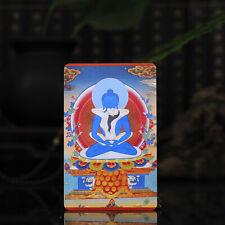 """3.4"""" Tibet Tibetan Buddhism Amulet thangka Adibuddha Primordial Buddha"""