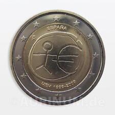 2 EURO ESPAÑA 2009 10 años ewu / EMU