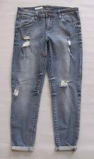Kut From The Kloth Skinny Jeans 8 Bridgette Ankle Destructed Light Stretch Denim