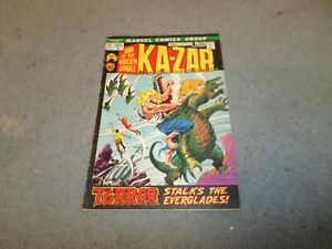 ASTONISHING TALES # 12 KA-ZAR LORD OF THE HIDDEN JUNGLE